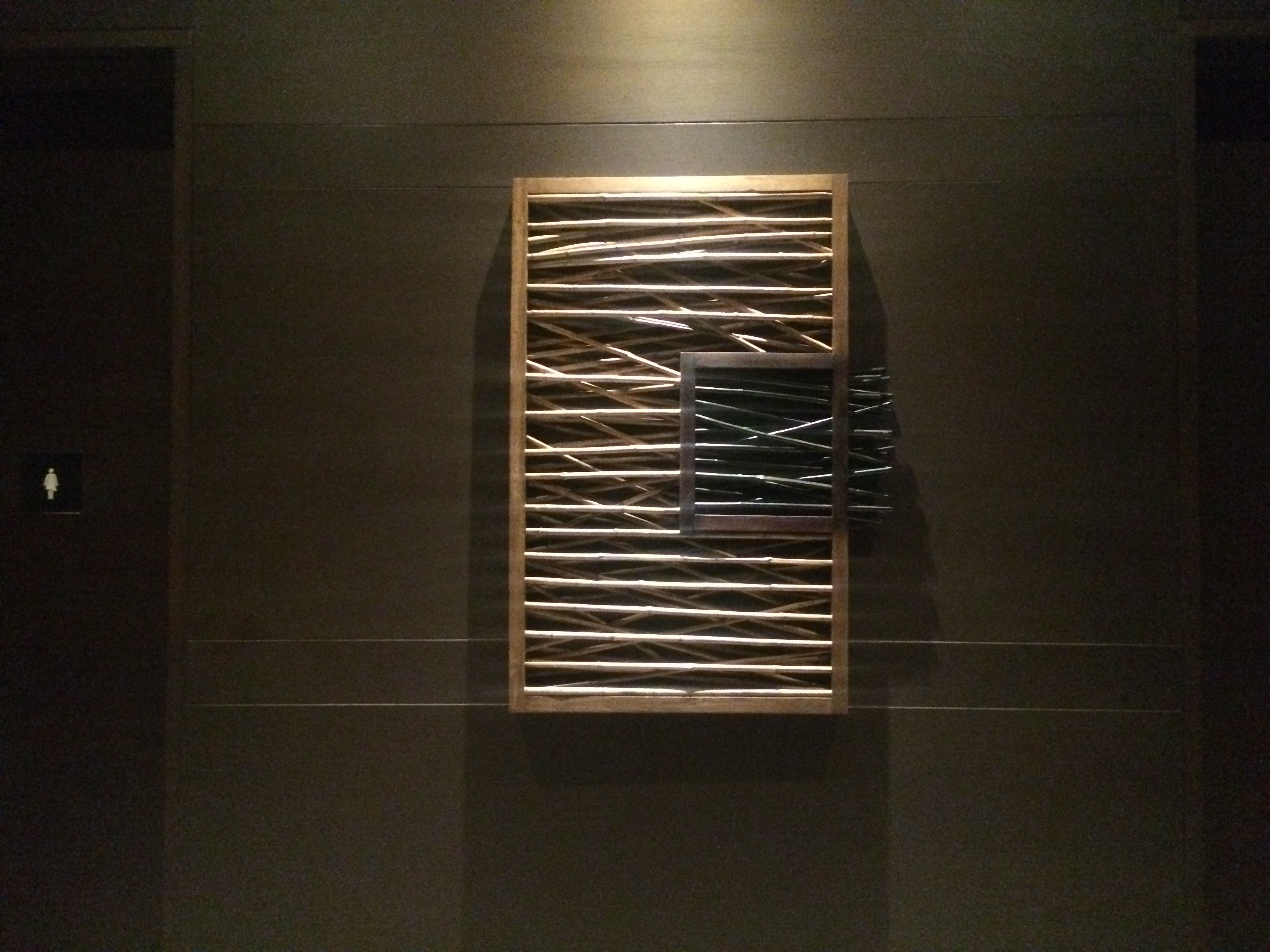artwork bamboo frame for pullman