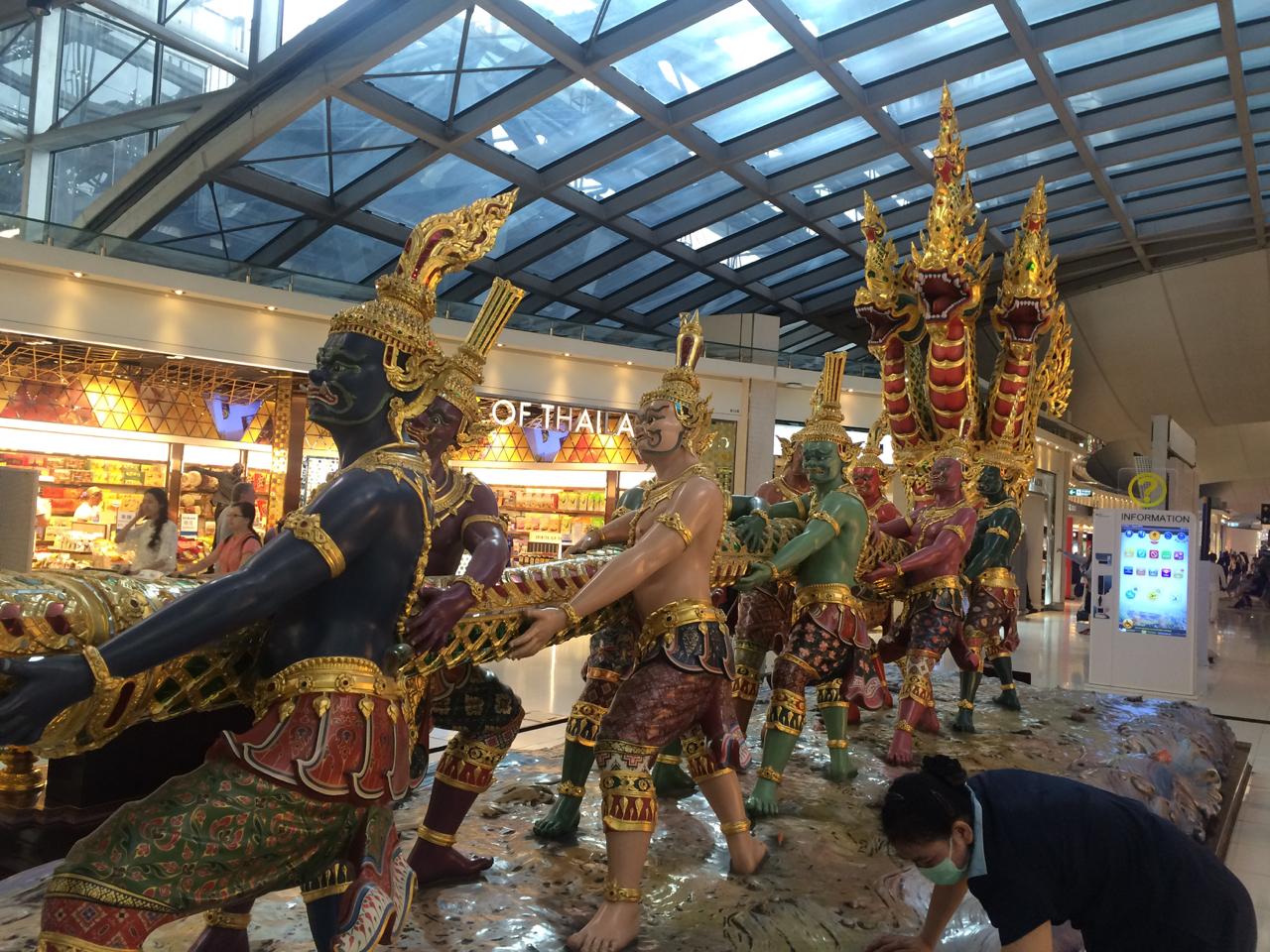 rong san bay thailand - 4